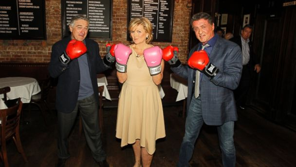ABC sly deniro 1 jtm 131218 16x9 608 Sylvester Stallone, Robert De Niro Talk About Taking on Grudge Match