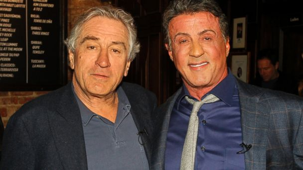 ¿Cuánto mide Robert de Niro? - Altura - Real height ABC_sly_deniro_2_jtm_131218_16x9_608