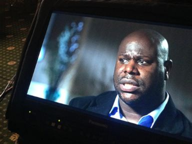 PHOTO: Steve McQueen, director of the Oscar-nominated film, 12 Years a Slave, talks with Chris Connelly for Nightline.