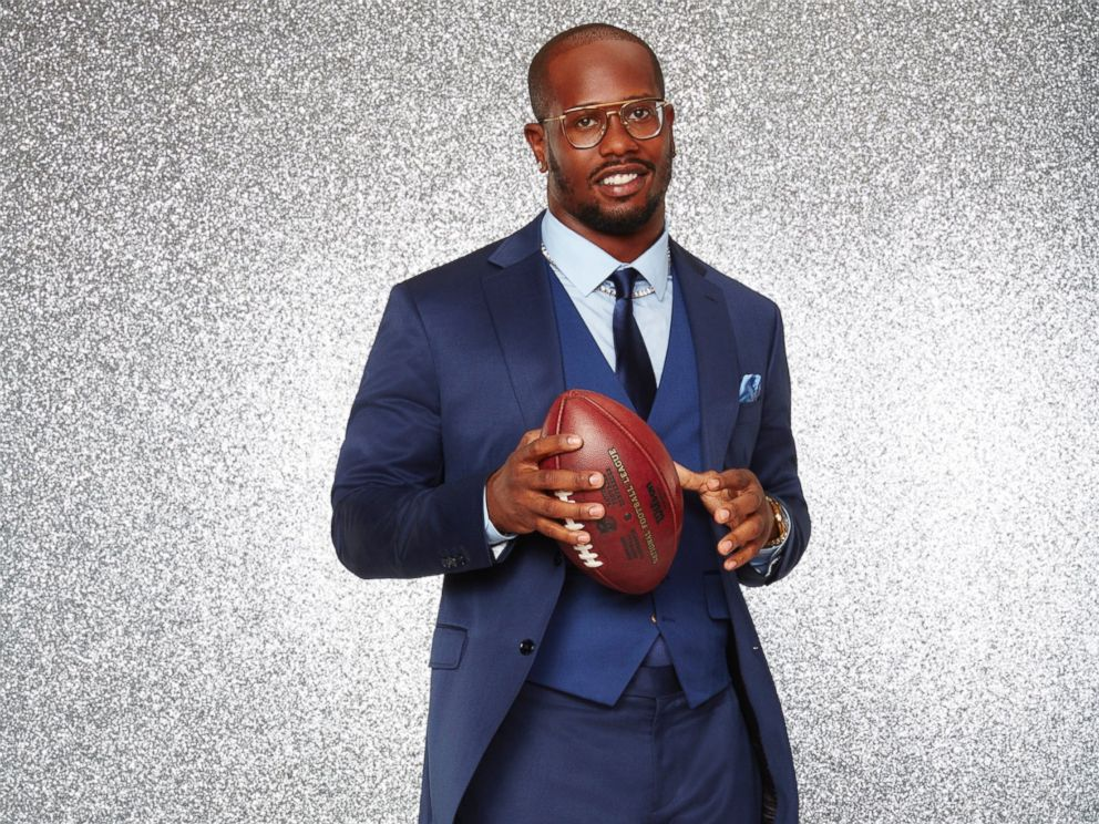 PHOTO: Von Miller and the rest of the stars will grace the ballroom floor for the first time on live national television with their professional partners during the two-hour season premiere of Dancing with the Stars, on Monday, March, 21, 2016.