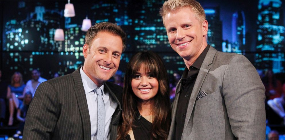 PHOTO: Sean and Catherine Lowe make their first television appearance since their wedding in January, on the Bachelor: Women Tell All, March 3, 2014.