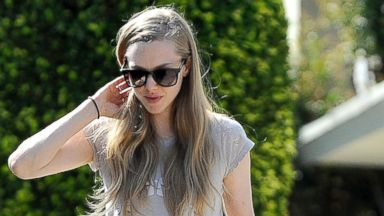 Amanda Seyfried Walks Her Australian Shepherd Finn