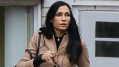 Famke Janssen Bundles Up Her Pooch