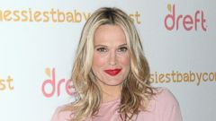 Molly Sims Steps Out in All Pink