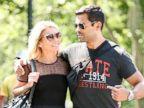 Kelly Ripa and Mark Consuelos Take a Walk in the Park