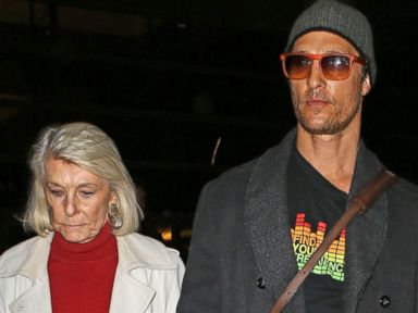 Photos: Matthew McConaughey Steps Out With His Mother