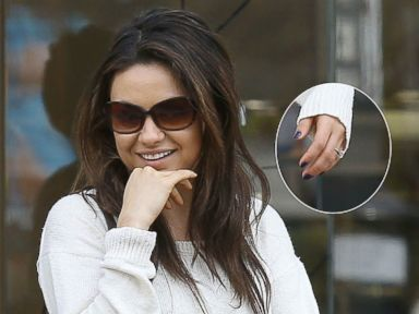 Mila Kunis and Ashton Kutcher Reportedly Engaged!