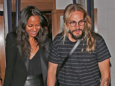 Photos: Wait Until You See Zoe Saldana's Husband's Tattoo of Her Face