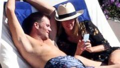 Tom Brady and Gisele Bundchen Relax in Italy