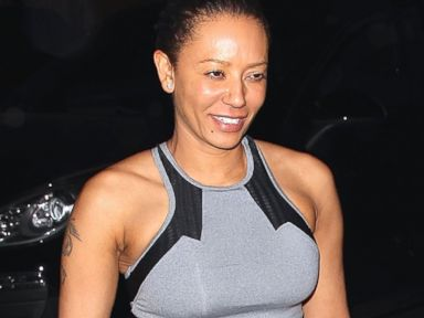 Mel B Goes Makeup-Free for Date Night