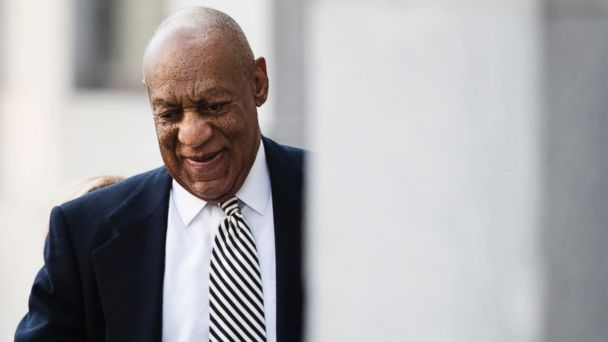 PHOTO: Bill Cosby arrives for a pretrial hearing in his sexual assault case at the Montgomery County Courthouse in Norristown, Pa., April 3, 2017.