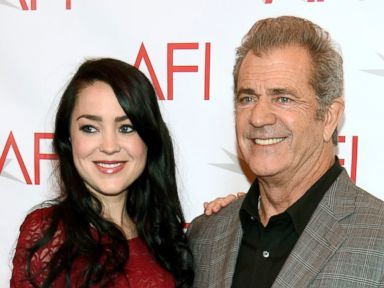 PHOTO: Rosalind Ross and Mel Gibson at the AFI Awards at the Four Seasons Hotel in Los Angeles, Jan. 6, 2017.