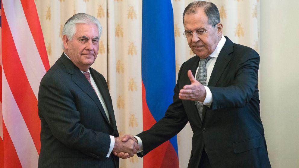 Tillerson, Lavrov to meet to discuss Syria, Ukraine