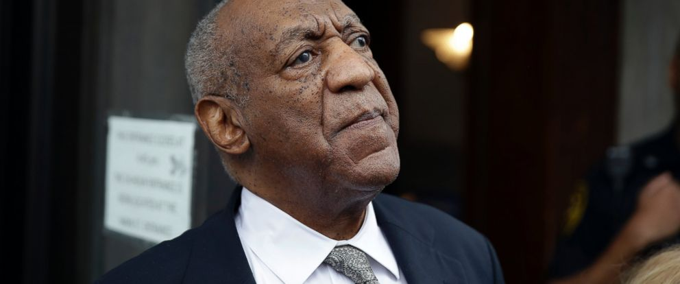 PHOTO: Bill Cosby exits the Montgomery County Courthouse after a mistrial was declared in Norristown, Pa., June 17, 2017.