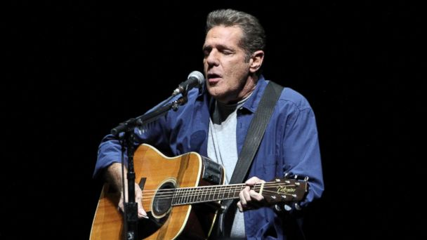 PHOTO: Glenn Frey of the Eagles performs  on Feb. 24, 2014, in Atlanta.