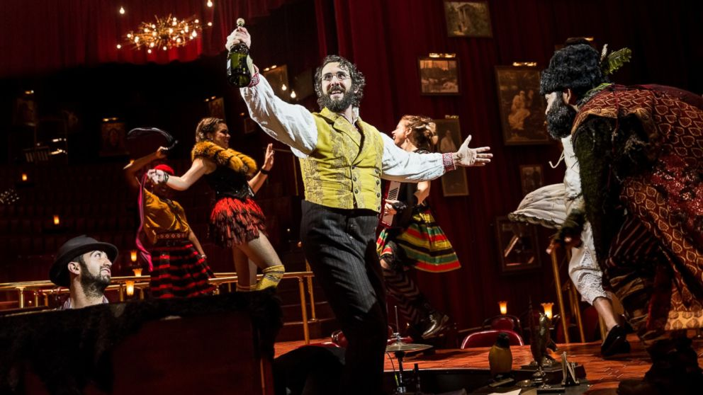 Josh Groban & his Broadway musical grab 12 Tony nominations