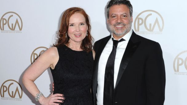 PHOTO: Oscars producers Jennifer Todd, left, and Michael De Luca at the 27th Annual Producers Guild Awards in Los Angeles, Jan. 23, 2016.