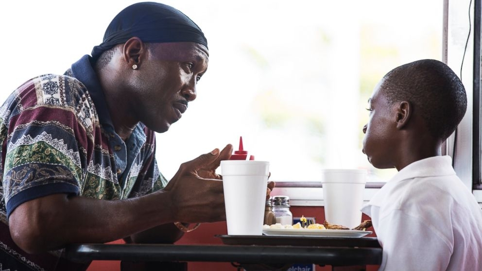PHOTO: Mahershala Ali, left, and Alex Hibbert in a scene from,