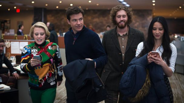 PHOTO: This image released by Paramount Pictures shows, from left, Kate McKinnon, Jason Bateman, T.J. Miller and Olivia Munn in a scene from
