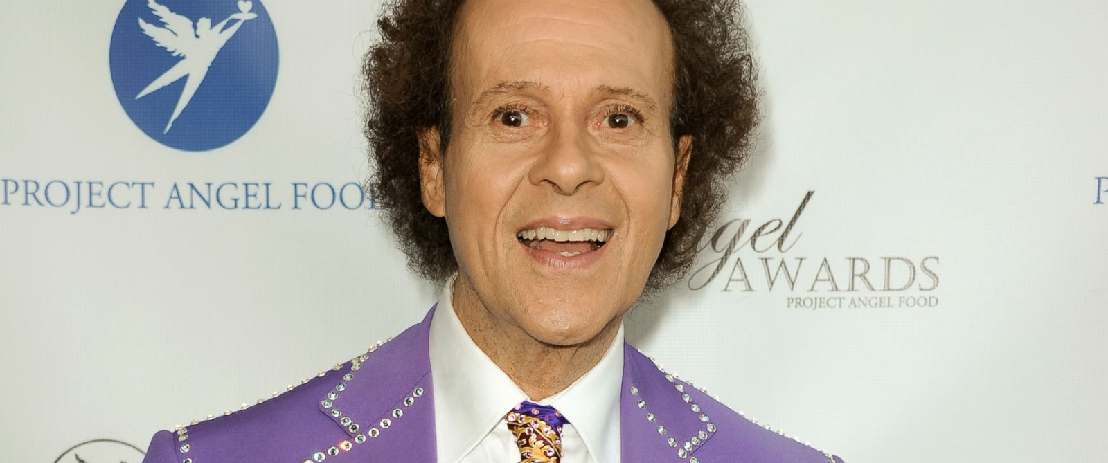 PHOTO: Richard Simmons arrives at the Project Angel Foods 2013 Angel Awards in Los Angeles, Aug. 10, 2013.