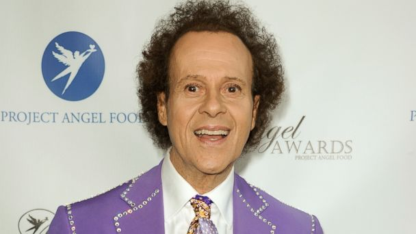 PHOTO: Richard Simmons arrives at the Project Angel Food's 2013 Angel Awards in Los Angeles, Aug. 10, 2013.