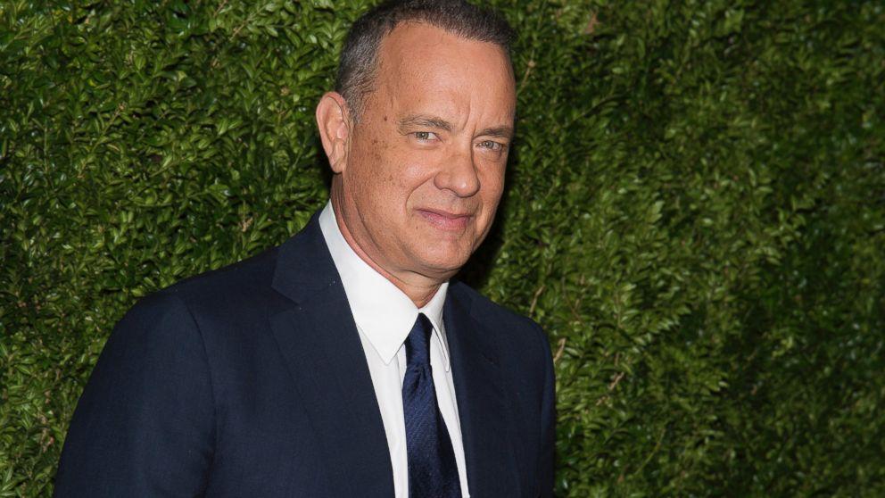Tom Hanks gifts typewriter to a fan
