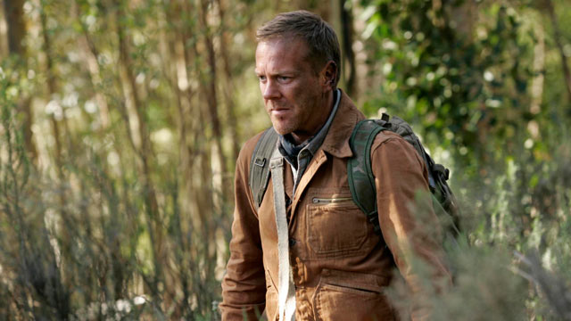 "PHOTO: In this image released by Fox Broadcasting, Kiefer Sutherland is shown in a scene from the film ""24: Redemption,"" on FOX."
