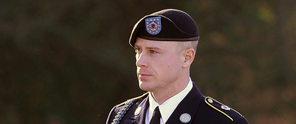 PHOTO: Army Sgt. Bowe Bergdahl arrives for a pretrial hearing at Fort Bragg, N.C., Jan. 12, 2016. Bergdahl, who was held by the Taliban for five years after he walked off a base in Afghanistan, faces charges of desertion and misbehavior before the enemy.