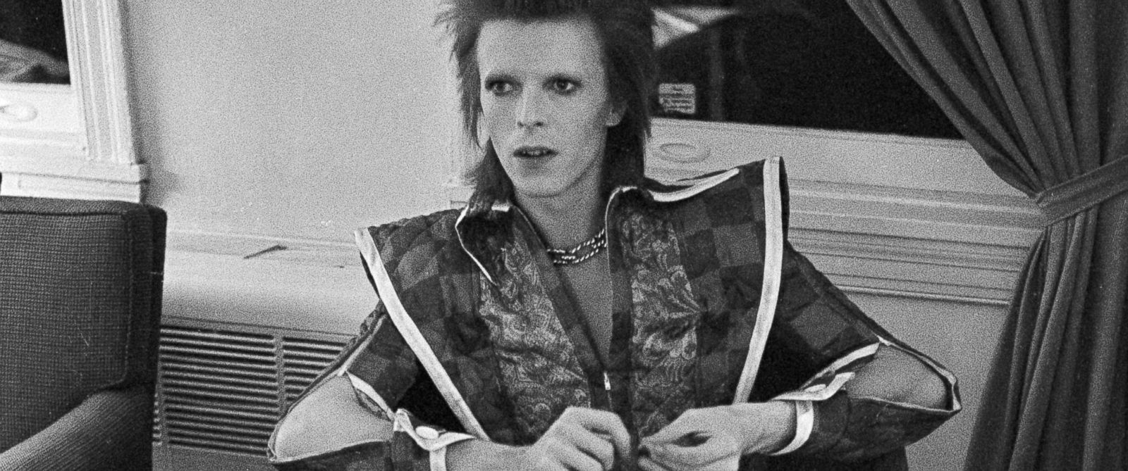 PHOTO: David Bowie during his Ziggy Stardust period is pictured in Philadelphia, Dec. 1, 1972.