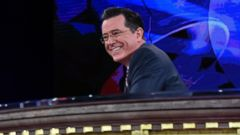 PHOTO: Stephen Colbert appears at Lisner Auditorium at George Washington University in Washington, Dec. 8, 2014.