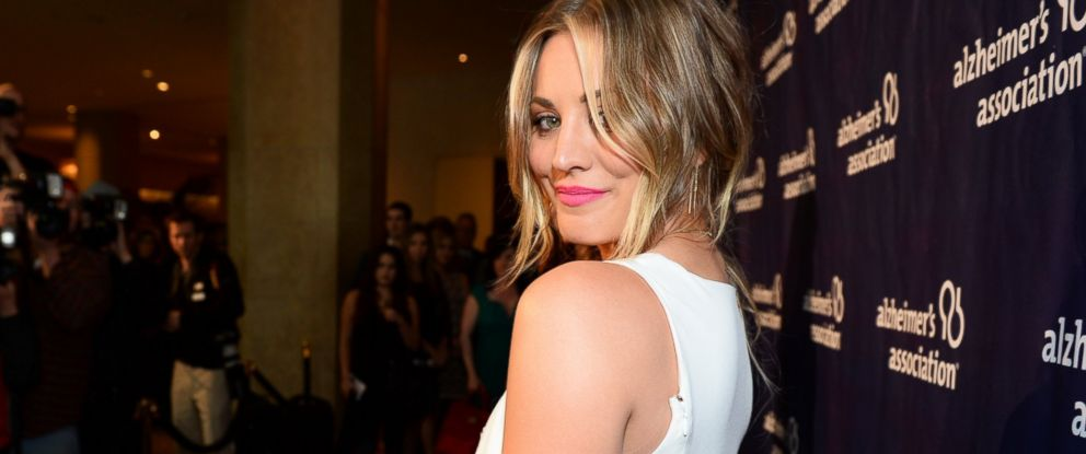"""PHOTO: Kaley Cuoco arrives at the 22nd annual """"A Night At Sardis"""" to benefit the Alzheimers Association at the Beverly Hilton Hotel on Wednesday, March 26, 2014, in Beverly Hills, Calif."""
