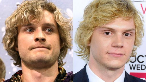 PHOTO: Charlie White and Evan Peters.