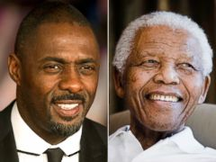 PHOTO: Idris Elba weighs in on playing Nelson Mandela in a Mandela: Long Walk to Freedom that premiered in the UK today.