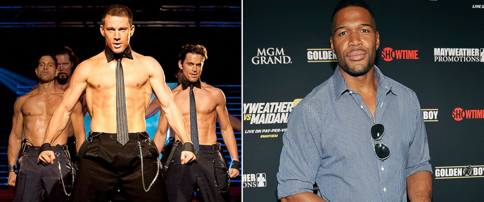 PHOTO: Michael Strahan in Magic Mike 2