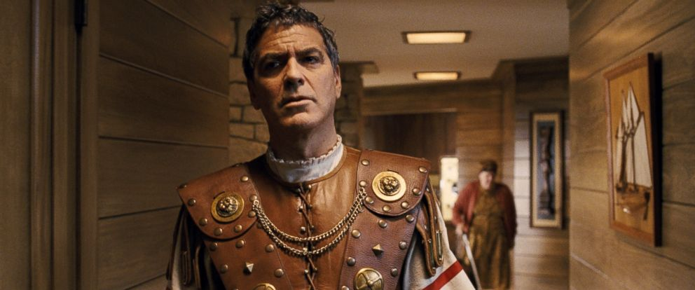 "PHOTO: George Clooney portrays Baird Whitlock in the film, ""Hail, Caesar!."""