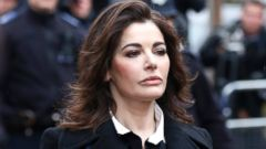 PHOTO: Celebrity chef, Nigella Lawson, arrives at Isleworth Crown Court in London, Dec. 4, 2013.