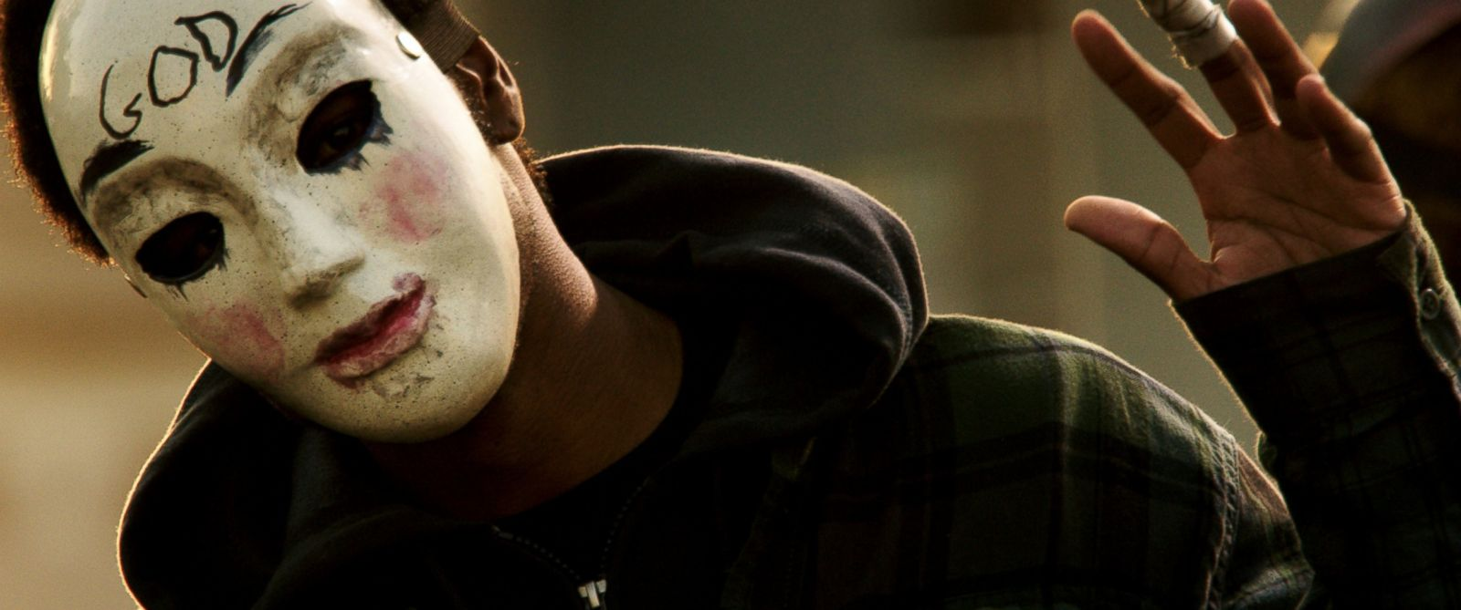 "PHOTO: This image released by Universal Pictures shows a scene from ""The Purge: Anarchy."""