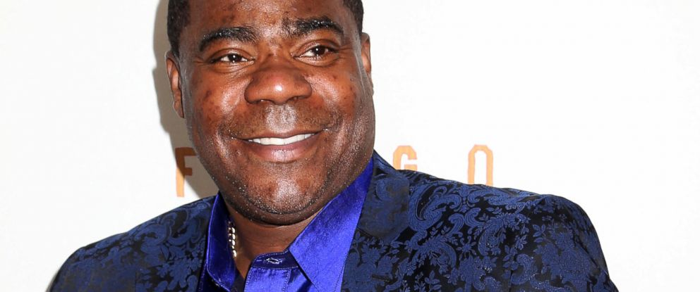 "PHOTO: Tracy Morgan is seen in this April 9, 2014 file photo at the FX Networks Upfront premiere screening of ""Fargo"" at the SVA Theater in New York."