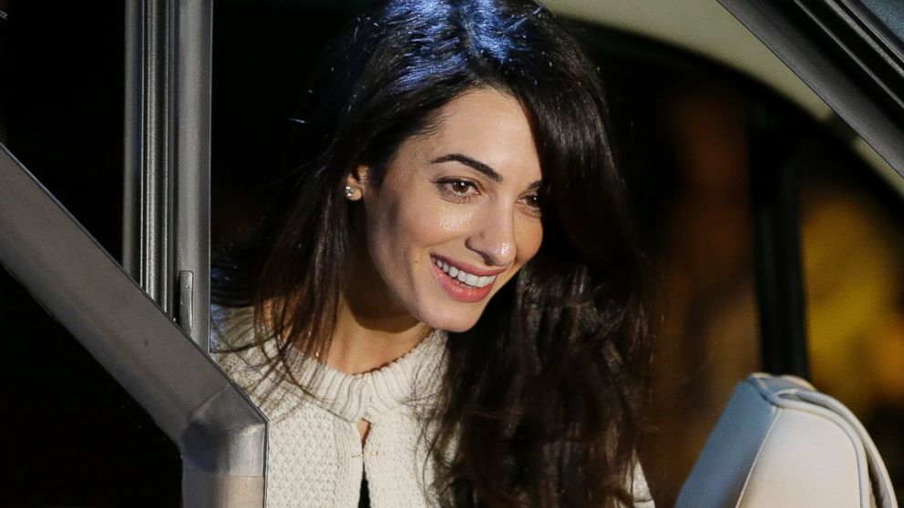 AMAL ALAMUDDIN Changes Her Name to Amal Clooney - ABC News