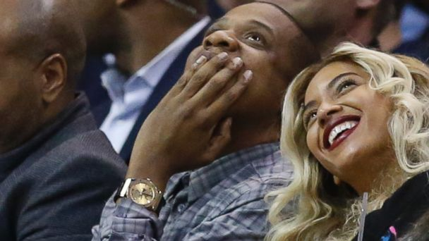 AP beyonce jayz ml 131122 16x9 608 Jay Z and Beyonce Congratulate Thunder Fan for $20K Half Court Shot