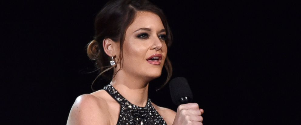 PHOTO: Brooke Axtell speaks at the 57th annual Grammy Awards, Feb. 8, 2015, in Los Angeles.