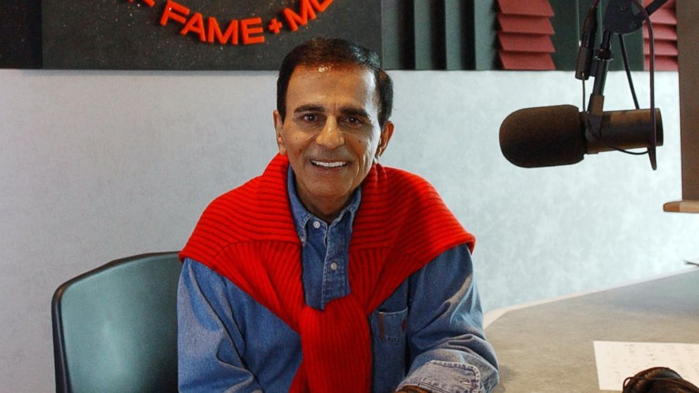 PHOTO: Radio personality Casey Kasem is shown at the Rock and Roll Hall of Fame in Cleveland, July 29