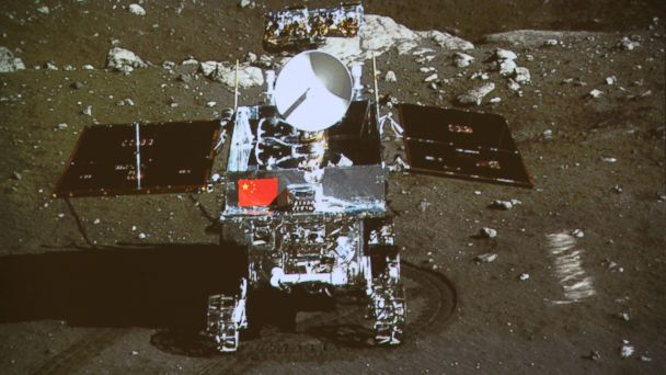 AP china jade rabbit moon rover tk 140213 16x9 608 Moon Rover Jade Rabbit Is Back From the Dead