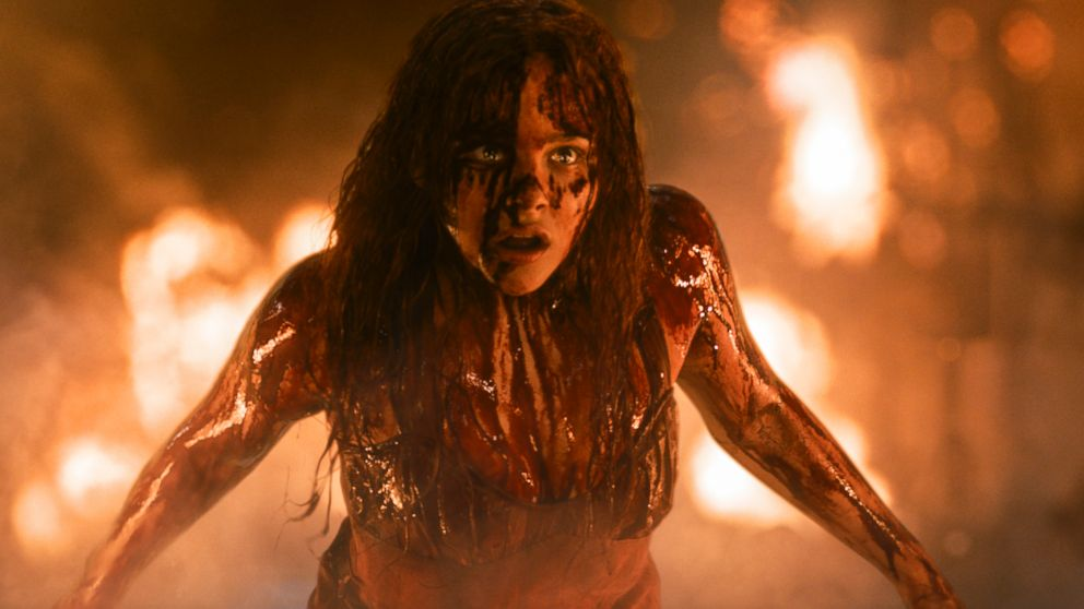 "PHOTO: Chloe Moretz in a scene from the horror film, ""Carrie."""