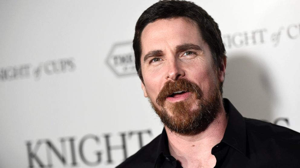Image result for christian bale with beard batman