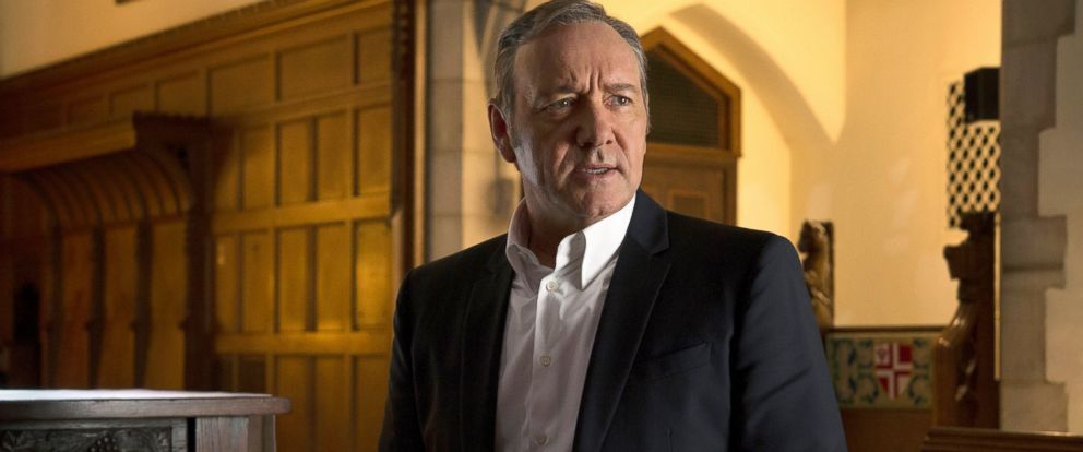 """PHOTO: Kevin Spacey appears in a scene from """"House of Cards."""""""