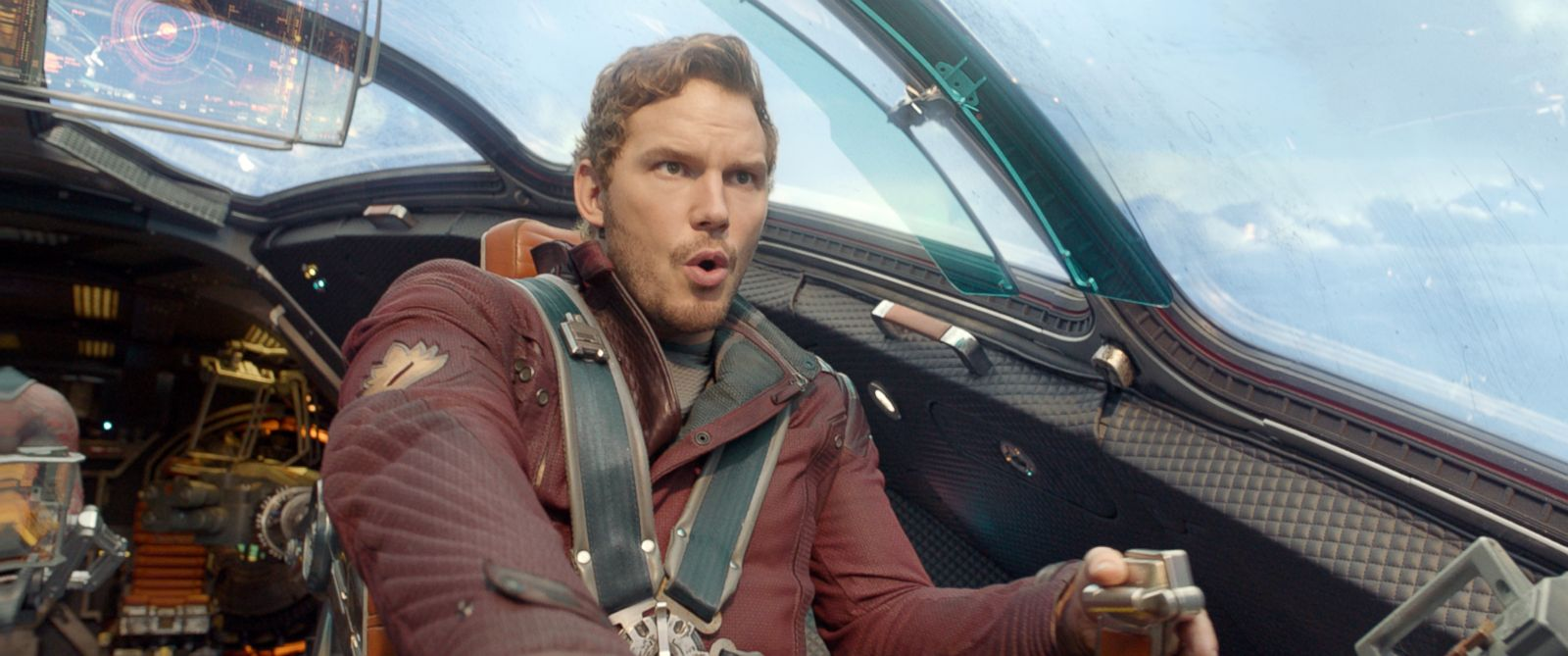 """PHOTO: This image released by Disney - Marvel shows Chris Pratt in a scene from """"Guardians Of The Galaxy."""""""
