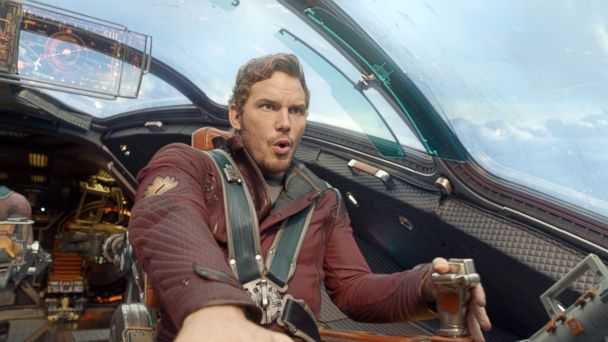 PHOTO: This image released by Disney - Marvel shows Chris Pratt in a scene from