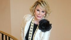 "PHOTO: Joan Rivers poses as she presents the ""Com"