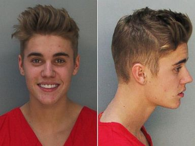 PHOTO: Pop star Justin Bieber is seen in this police booking image, Jan. 23, 2014.